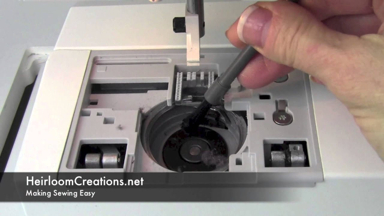 medium resolution of how to clean a husqvarna viking sewing machine