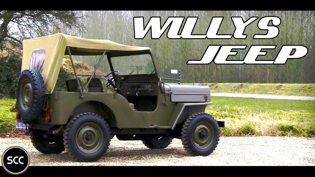 willys jeep cj3 1955 little test drive wwii jeep scc tv youtube rh youtube com CJ3B Parts CJ3A