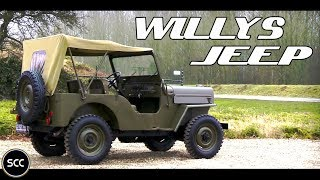Willys JEEP CJ3 1955 - Little Test Drive!  - WWII Jeep | SCC TV