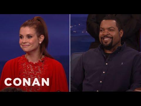 JoAnna Garcia Swisher Had The Hots For Ice Cube   CONAN on TBS