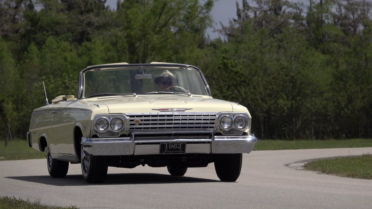 All Chevy 1962 chevy 409 for sale : 1962 Chevrolet Impala SS Convertible 409/409 owned by
