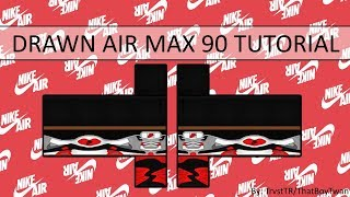 ROBLOX: How to draw Air Max 90 | Part 1