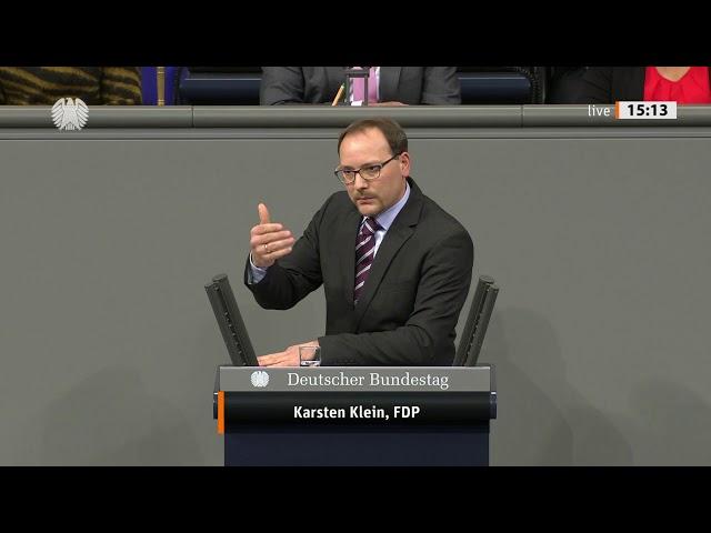 Karsten Klein, Bundestagsrede zum Verteidigungshaushalt am 27.11.19