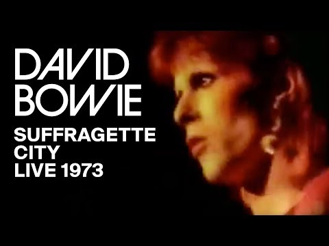 David Bowie - Suffragette City (Live Hammersmith 1973)