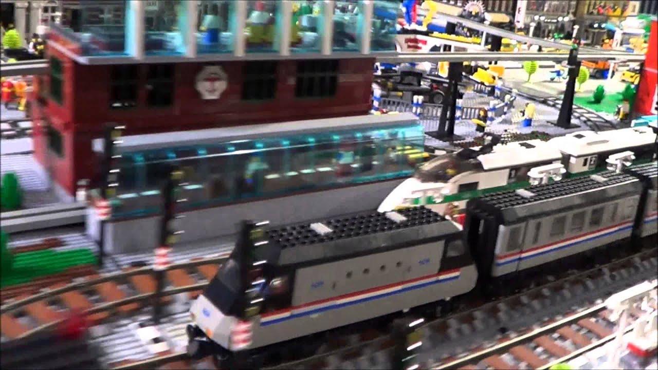 LEGO CITY layout - YouTube