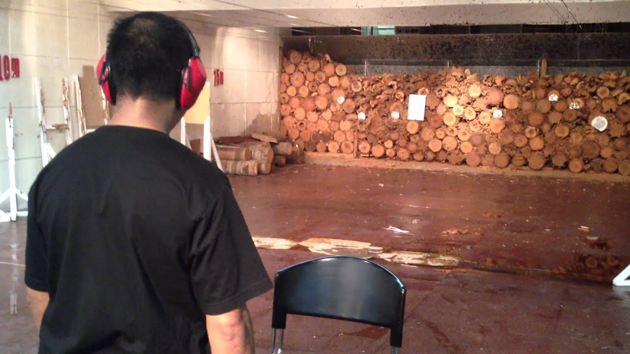 Nice Awesome Home Indoor Shooting Range Design Gallery Decoration