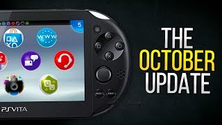 PlayStation Vita – The October Update (2018)
