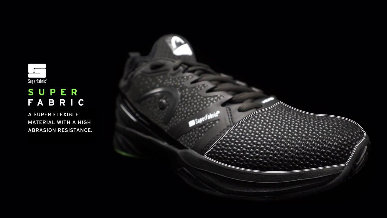 e85a1076116b08 HEAD Sprint SF Tennis Shoe - Technology Explained - YouTube