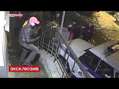 РК//Нападение на сотрудников 44 го отдела полиции Санкт Петербурга