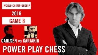 World Chess Championship 2016 Carlsen v Karjakin Game 8