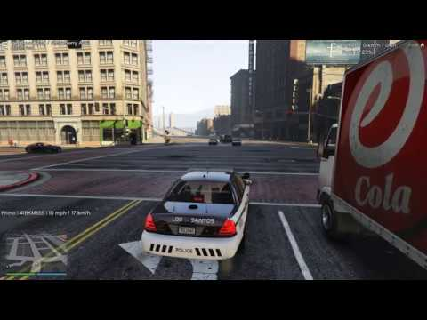 COPS ONLINE EP1 STATE TROOPER SHOT - GTA V RP SOE