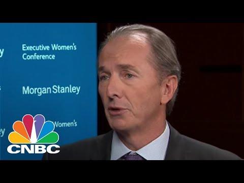 Morgan Stanley's James Gorman: Markets Screaming For Turmoil | CNBC