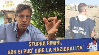 Rimini, non si può dire la nazionalità (28 agosto 2017)