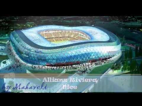 UEFA Euro Cup France 2016 - Stadiums