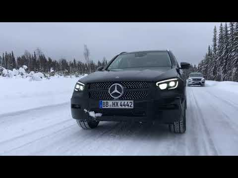 2020 Mercedes GLC - Prototype drive test video review