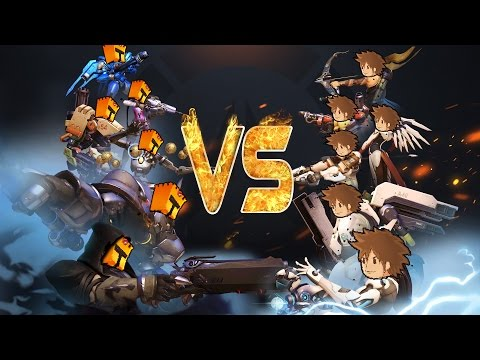 DUEL OVERWATCH DARKHEAVEN VS FRIGIEL !
