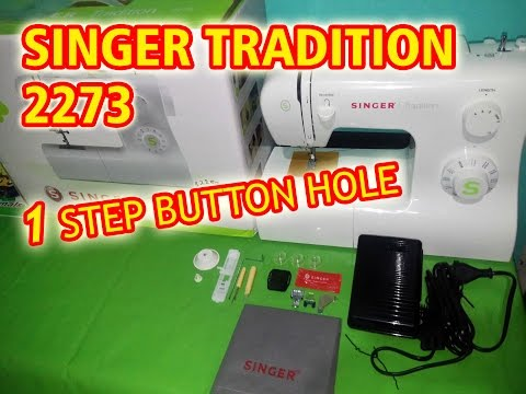 UNBOXING SINGER TRADITION 2273 !!!