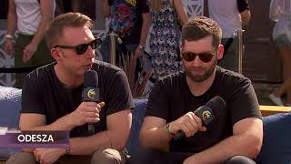 ODESZA Interview - Coachella 2018