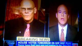 JAMES CARVILLE on Cooper360 DESTROYING GOP VIEW!!!