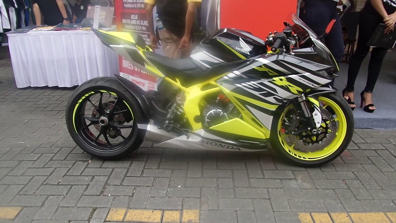 Honda CBR250RR Modifikasi Motoenginecom YouTube