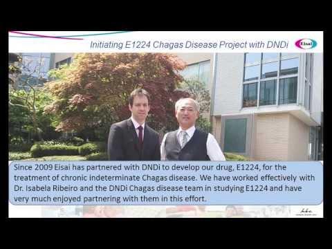 Fighting Chagas: Eisai- DNDi Partnership to develop E1224