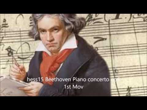 hess15 Beethoven Piano concerto no 6 1st Mov