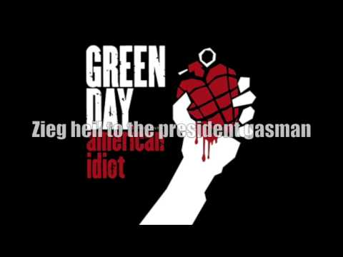 Green Day - Holiday [CLEAN LYRICS]