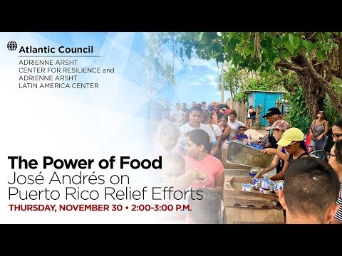 The Power of Food: José Andrés on Puerto Rico Relief Efforts