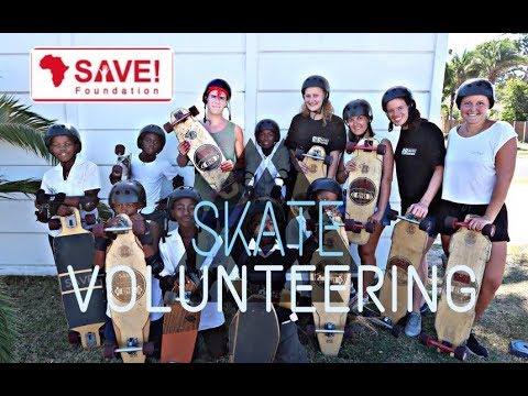 SAVE Foundation I Skating I South Africa I Volunteering