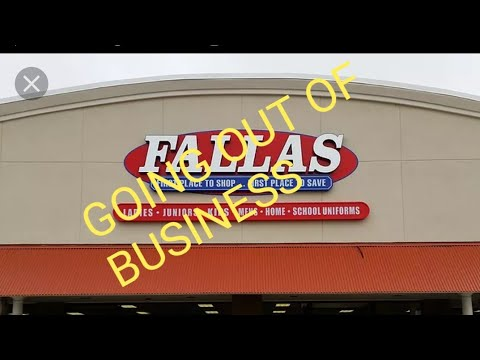 FALLAS GOING OUT OF BUSINESS (2 LOCATIONS IN LAS VEGAS)