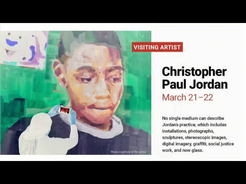Hot Shop Live: Visiting Artist Christopher Jordan