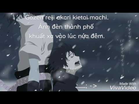 [Vietsub + Lyrics] Black Night Town (Naruto Shippuuden ED 27 FULL)