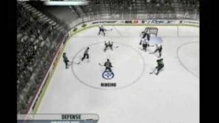 NHL 08 (PS2) Gameplay