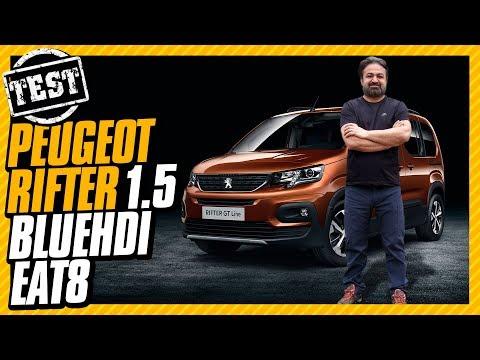 Peugeot Rifter Test Sürüşü: Hafif SUV :)