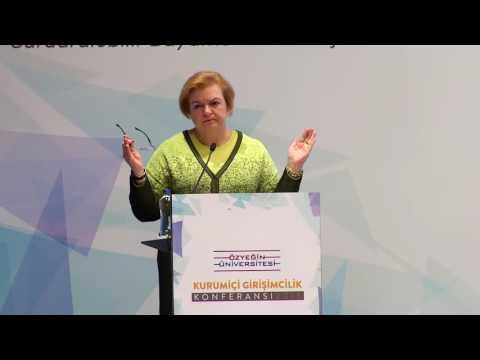 4. Kurumiçi Girişimcilik Konferansı - Canan Özsoy – GE Türkiye Yönetim Kurulu Başkanı