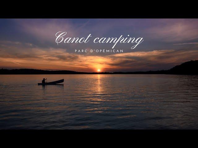 CANOT-CAMPING | L'un de nos plus beaux COUCHERS DE SOLEIL | Parc d'Opémican | #QUEBEC