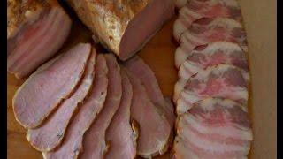 Копчение сала и мяса в домашних условиях