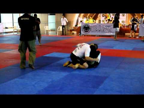 2011 BJJ Thailand Open No-Gi Elite Abs : Daniel Simmler VS Makoto Ogasawara