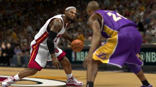 NBA 2K15 2015 PC blacktop gameplay Kobe Bryant Vs Lebron James 1 on 1  (Xbox 360/PS3/PC/PS4)