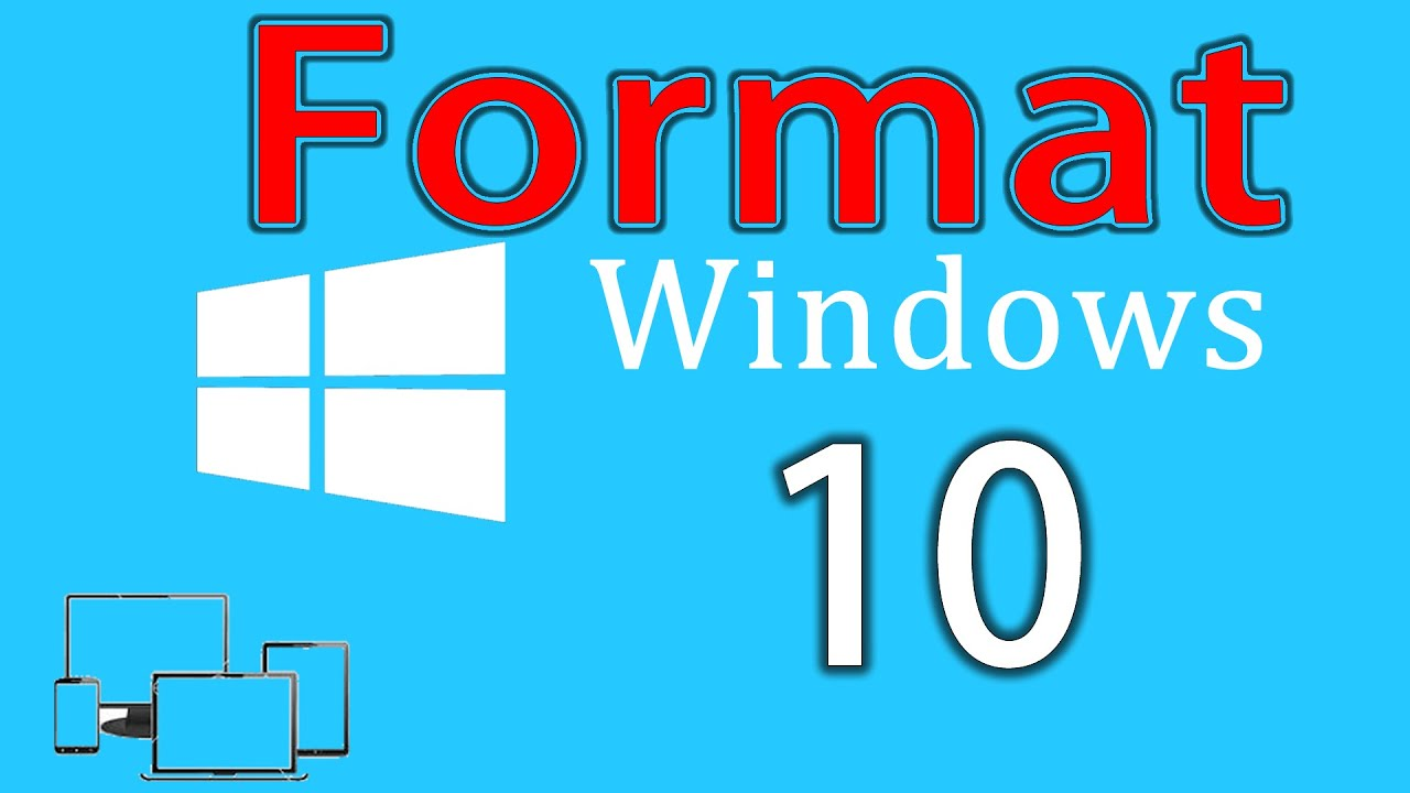 Windows 10 Format Atma Video - How to Format and Install Windows ...