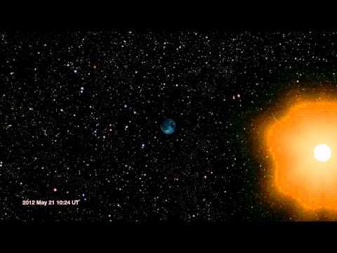 Moon's Orbit In May/June 2012 [1080p]