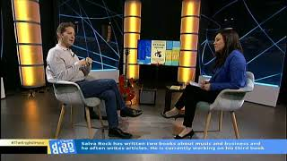 Marcela Topor interviews SalvaROCK at El Punt Avui TV