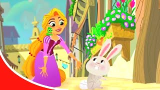 Мультфильм Disney | Рапунцель Короткие истории - Сезон1 серия4 - Заячий мир | Принцессы Disney