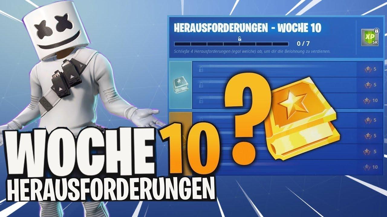 Herausforderungen Woche 10 Season 7 Neu Fortnite Youtube