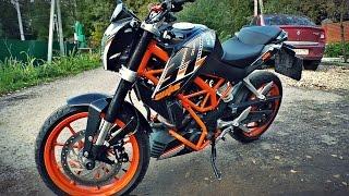 KTM 400 DUKE обзор и тест-драйв мотоцикла