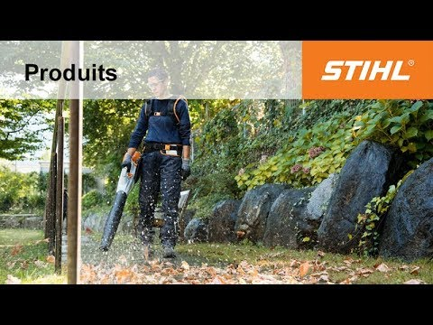 souffleur batterie bga 100 stihl youtube. Black Bedroom Furniture Sets. Home Design Ideas