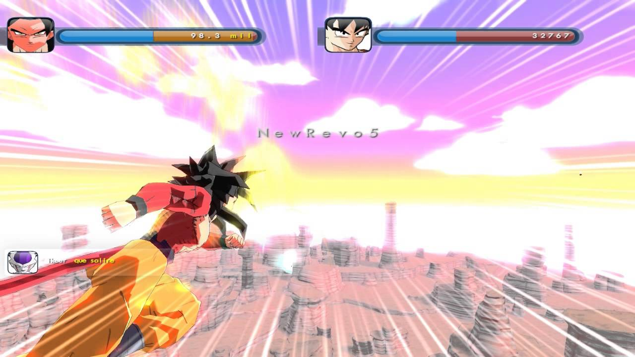Dragon Ball Z Online Sandbox Game Youtube