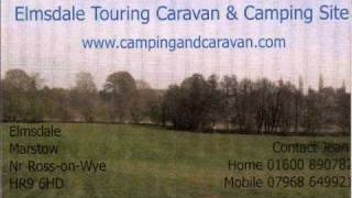 camping and caravaning in herefordshire