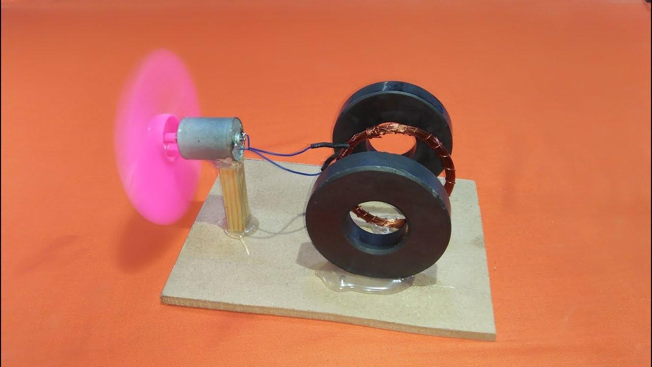 фото сделать генератор из двигателя от магнитофона оренбургской области это