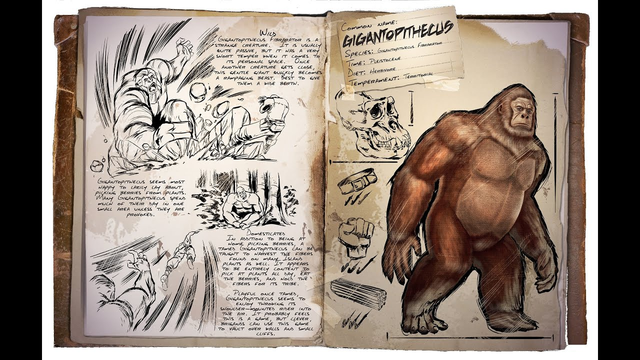 fr ark survival evolved ep 081 le grand singe gigantopithecus youtube. Black Bedroom Furniture Sets. Home Design Ideas